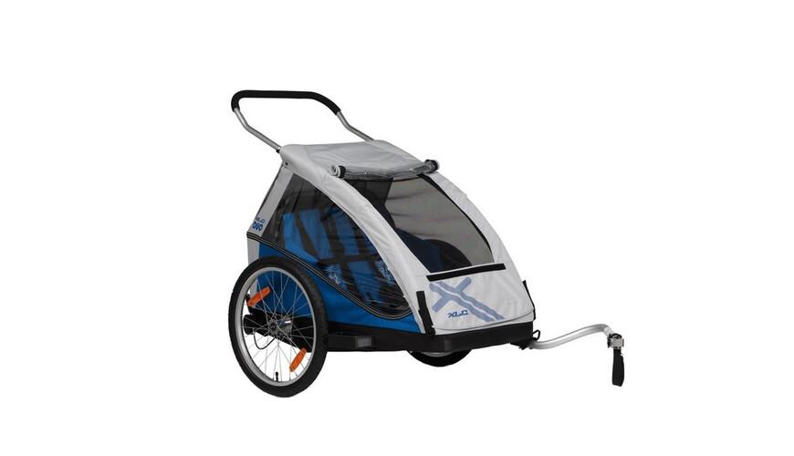 XLC Duo Kinder Anhänger silber/blau